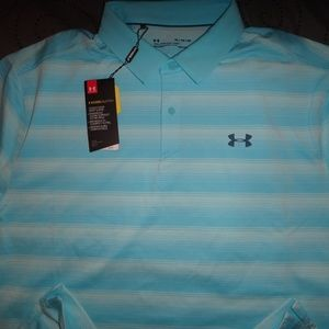 UNDER ARMOUR COOL SWITCH POLO SHIRT XL L NWT $74.9